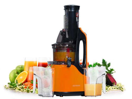 Extracteur de jus Premium de Tritan avec tarière en Ultem OURSSON JM7002/OR