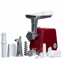 Hachoir viande électrique multifonction avec accessoires, Hachage de viandre, faire saucisses, kubbe et jus de tomate, MG5020/DC