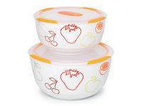 Set de bols en céramique Clip Fresh OURSSON BS4781RC/OR, 2 pcs